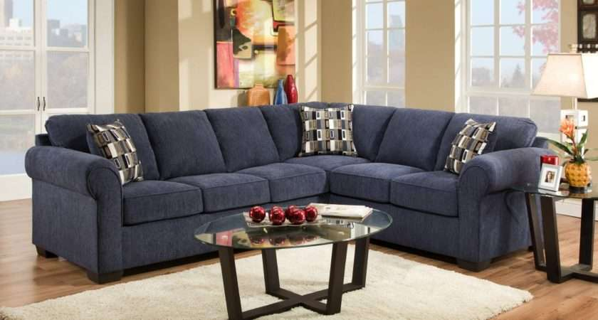 Navy Blue Sectional Sofa Cnilove Home Decorating Style Then