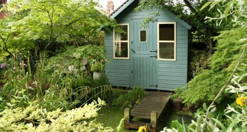 Neatly Tucked Country Garden Shed Secret Gardens Pinterest