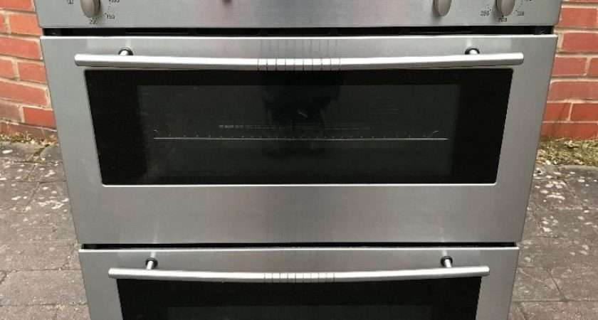 Neff Double Oven Stainless Steel Model Can
