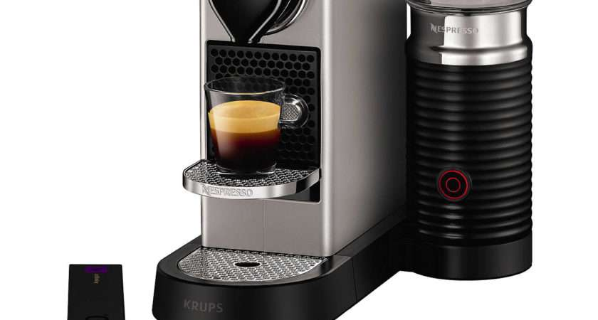 Nespresso Citiz Milk Coffee Machine Krups