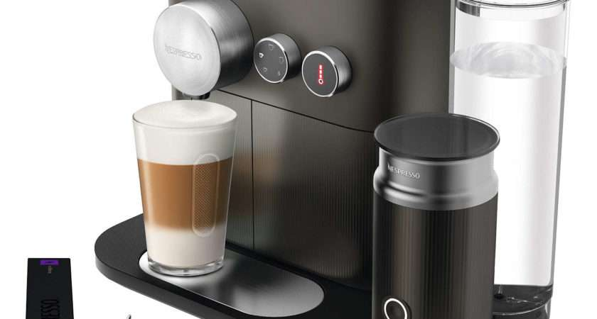 Nespresso Expert Coffee Machine Aeroccino