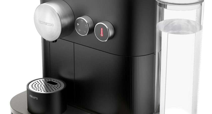Nespresso Expert Coffee Machine Krups Matt Black
