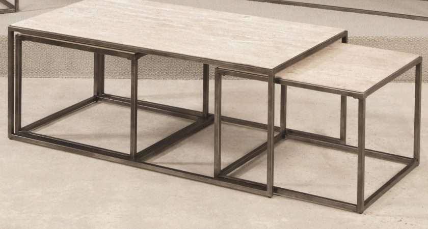 Nesting Coffee Tables Table