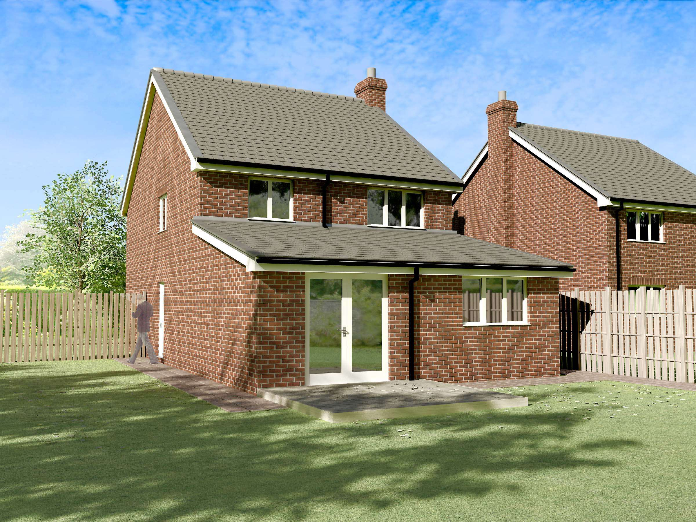 New Build House Extension Detached