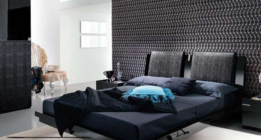 New Colors Bedrooms Decorations Black White Styles