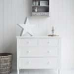 New England White Chest Drawers Bedroom Hall