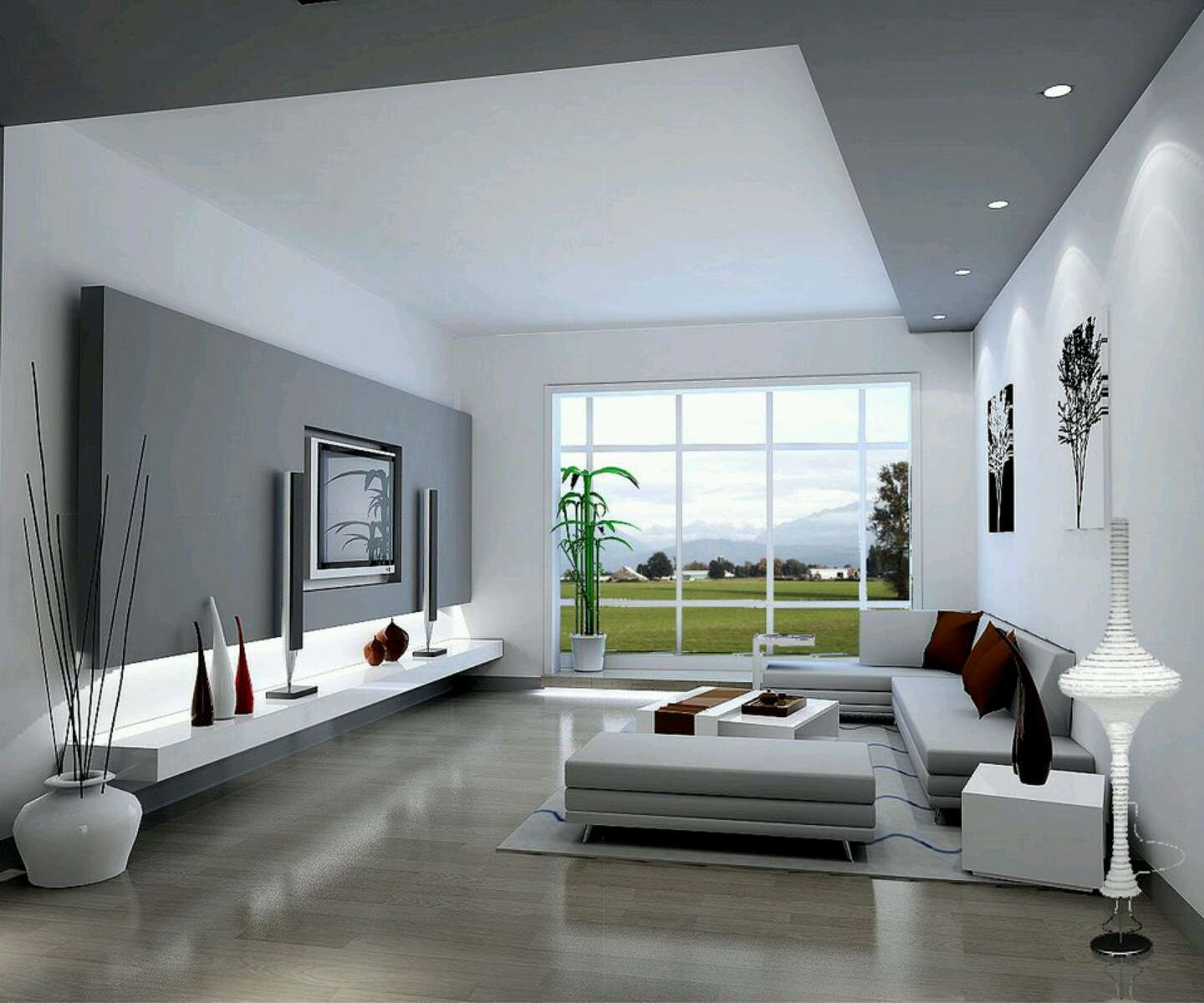 New Home Designs Latest Modern Living Rooms Interior Ideas