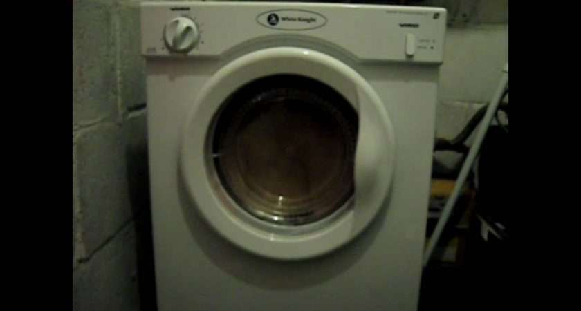 New White Knight Compact Tumble Dryer Youtube