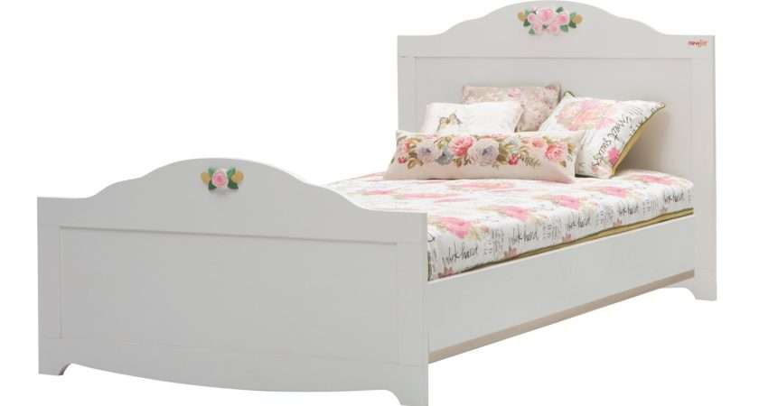 Newjoy Laura Traditional Small Double Bed Frame