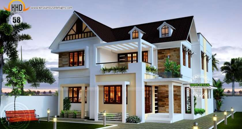 Nice New Home Plans Kerala House Design