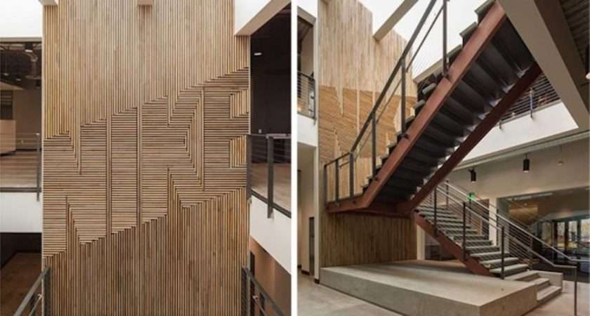Nike Wood Feature Wall Fubiz Media