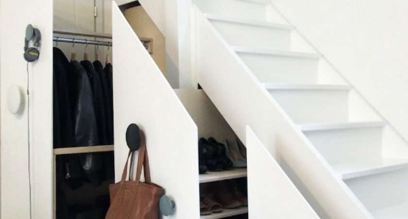Nine Clever Designs Integrate Storage Stairs
