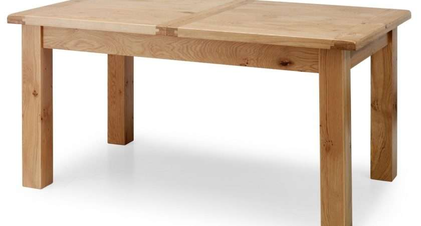 Normandy Rustic French Oak Large Extending Dining Table