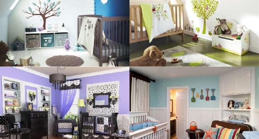 Nursery Decorating Ideas Unique Looks New Baby