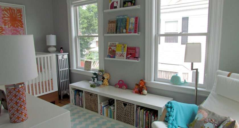 Nursery Inspiration Grey Walls