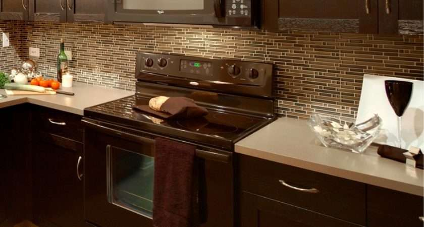 Oak Cabnets Stained Dark Kitchen Pinterest Taupe Countertops