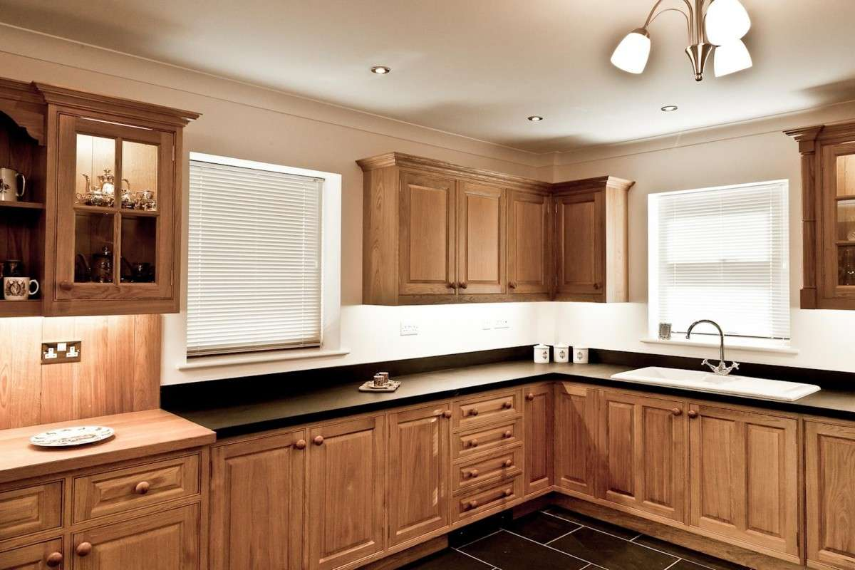 Oak Kitchen Pembrokeshire Mark Stone Welsh Kitchens