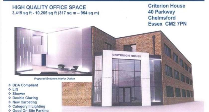Office Rent Criterion House Parkway Chelmsford