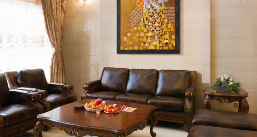 Oil Paintings Living Rooms Traditional Room