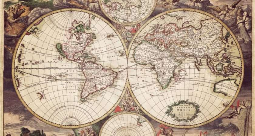 Old World Map Unsorted Other