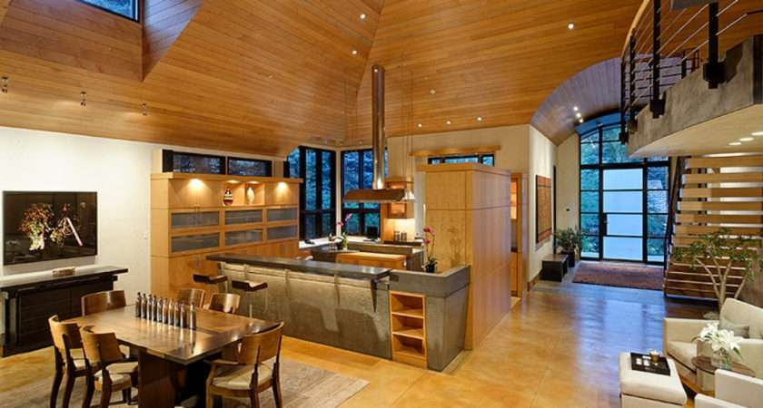 Open Kitchen Dining Area Interior Design Mag