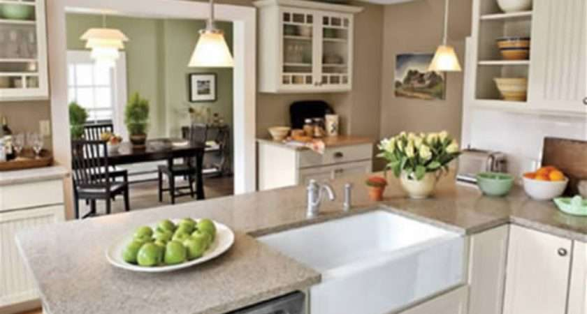 Open Kitchen Dining Room Color Ideas House Decor