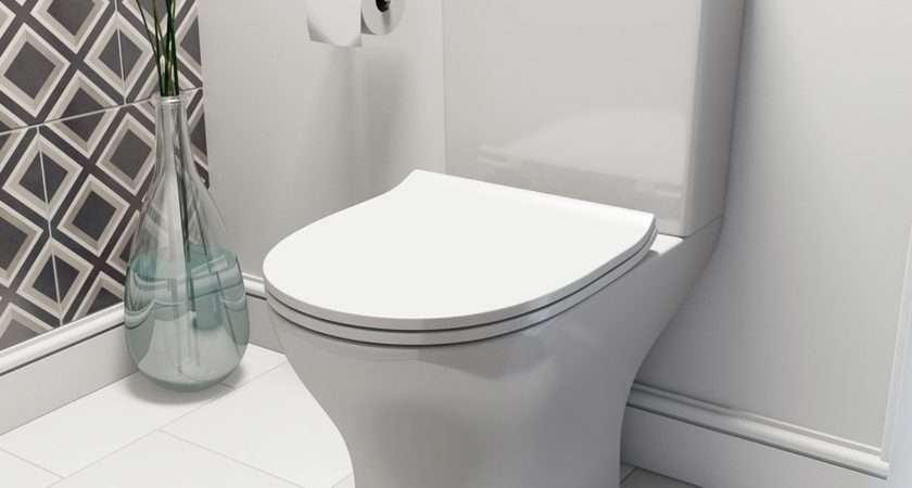Orchard Compact Cloakroom Suite Contemporary Wall
