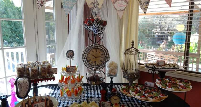 Other Sweet Somethings Alice Wonderland Themed Baby Shower