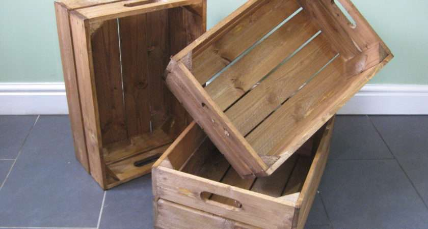 Our Beautiful Wooden Crates Can Found Crate