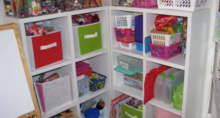Our Craft Storage Cube Shelving Don Look Too Close Need