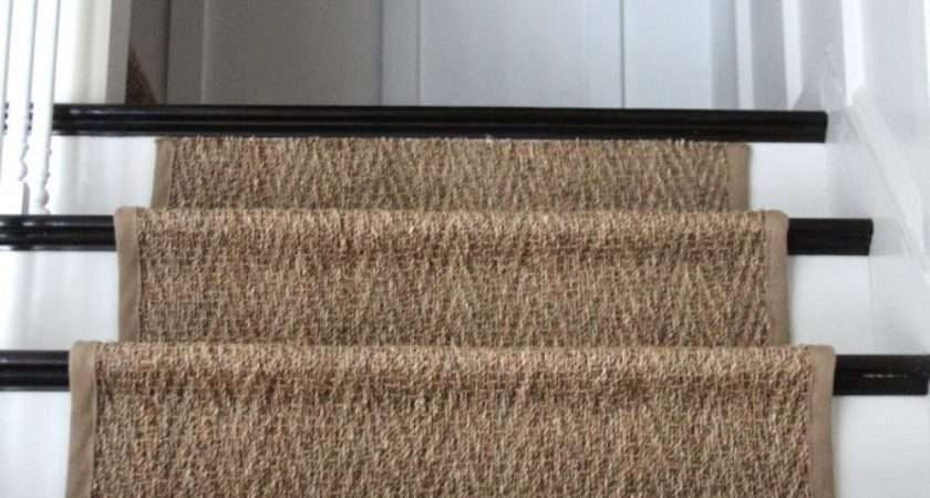 Our Natural Fiber Stair Runner Has Held Shine