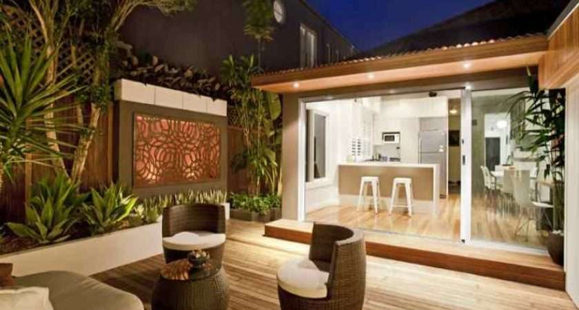Outdoor Living Design Deck Real Australian Home