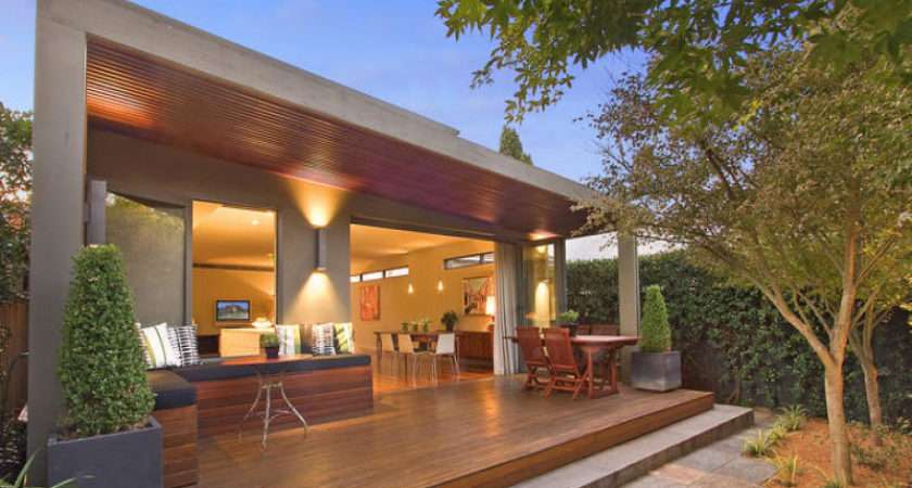 Outdoor Living Design Real Australian House