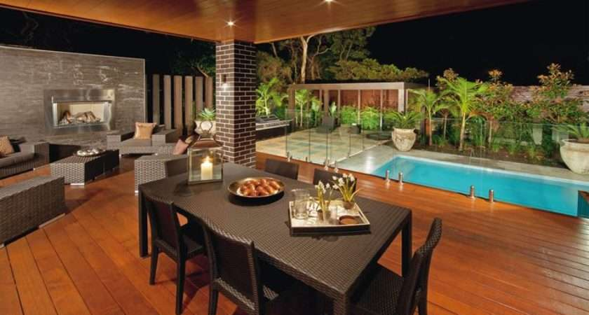 Outdoor Room Alfresco Area Ideas Design