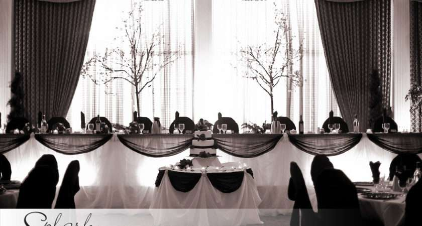 Outstanding Black White Wedding Table Decorations