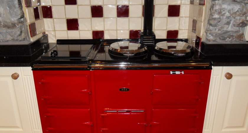 Oven Deluxe Style Fully Reconditioned Oil Aga
