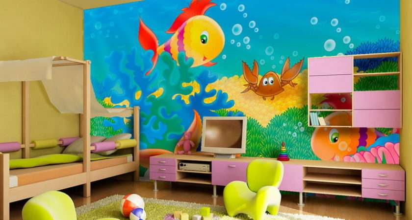 Over Top Themes Kids Bedroom