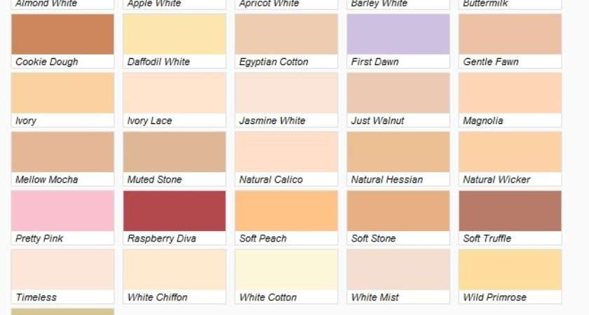 Paint Collection Includes Different Colours All Which