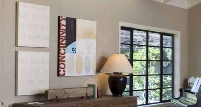 Paint Wood Paneling Home Design Ideas Remodel