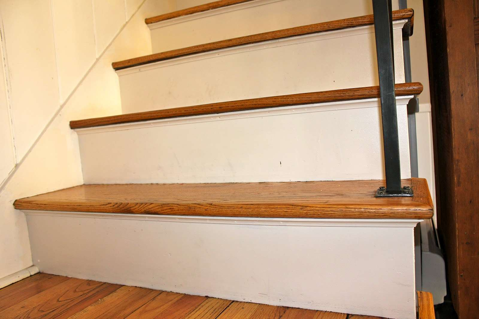 Painted Basement Stairs Staircase Ideas Second Sun