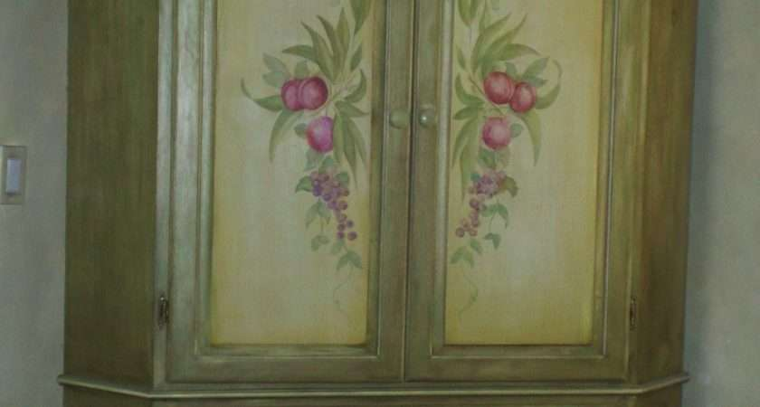 Painted Furniture Flowers Master Touch