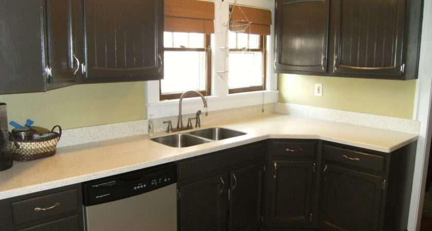 Painted Kitchen Cabinets Projects Around House