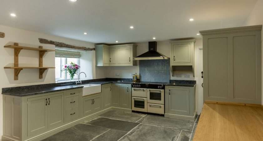 Painted Kitchen Farrow Ball French Gray Designed Farm House