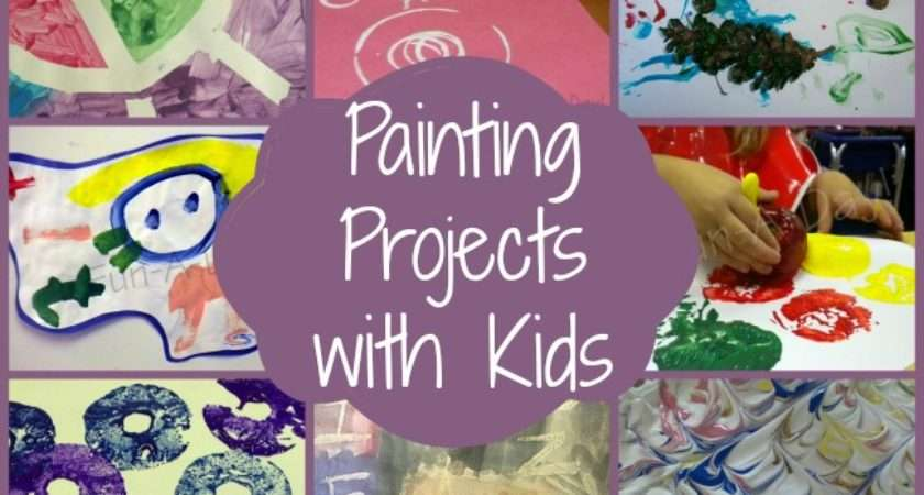 Painting Art Ideas Kids Fun Projects