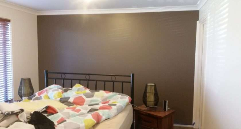 Painting Bedroom Feature Wall Decorating