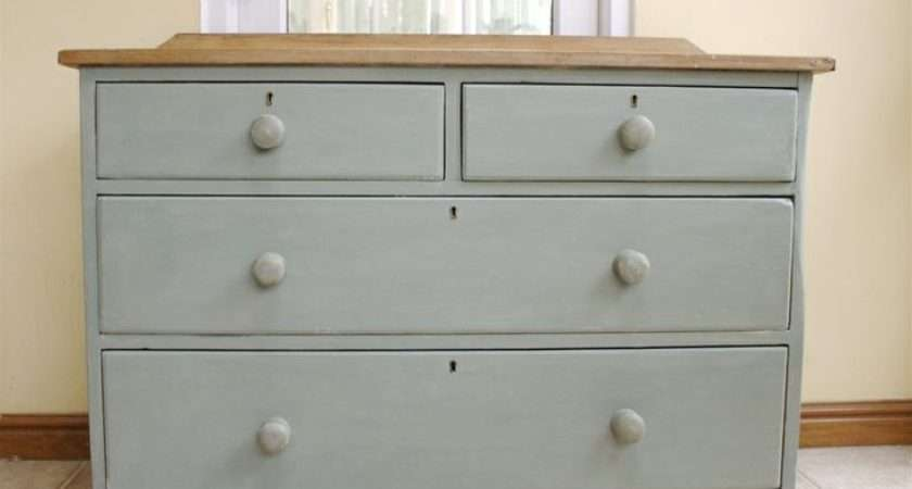Paintings Furniture Pine Chest Shabby Chic Antiques Paint