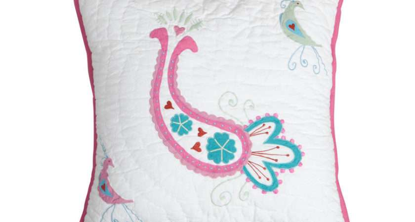 Paisley Quilted Cushion Babyface Notonthehighstreet