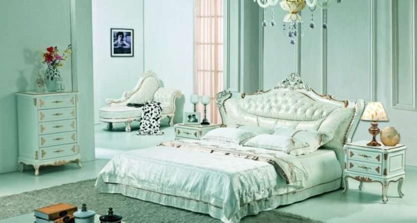 Pale Green Bedroom Neo Classical Style House