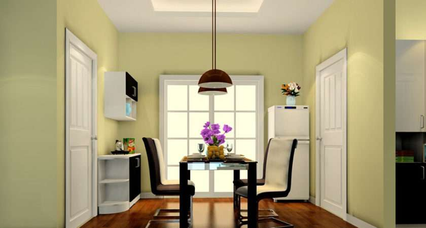 Pale Green Dining Room Decoration
