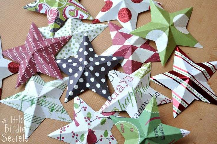 Paper Stars Crafts Pinterest